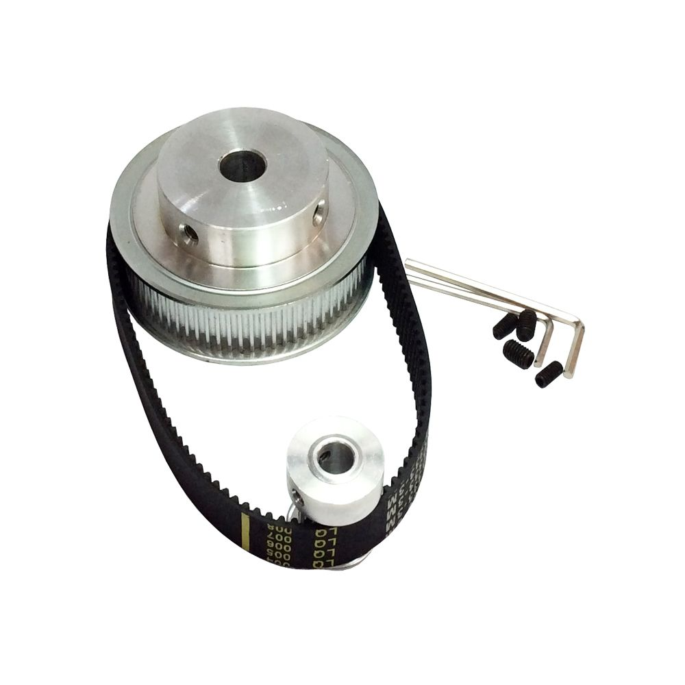 3m 14 Timing Belt Pulley 60 Teeth 15 Shaft Center Diastance Cnc Belts And Pulleys 60mm