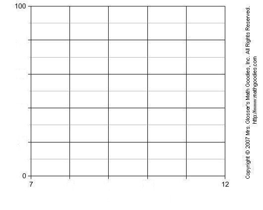 printable line graph paper