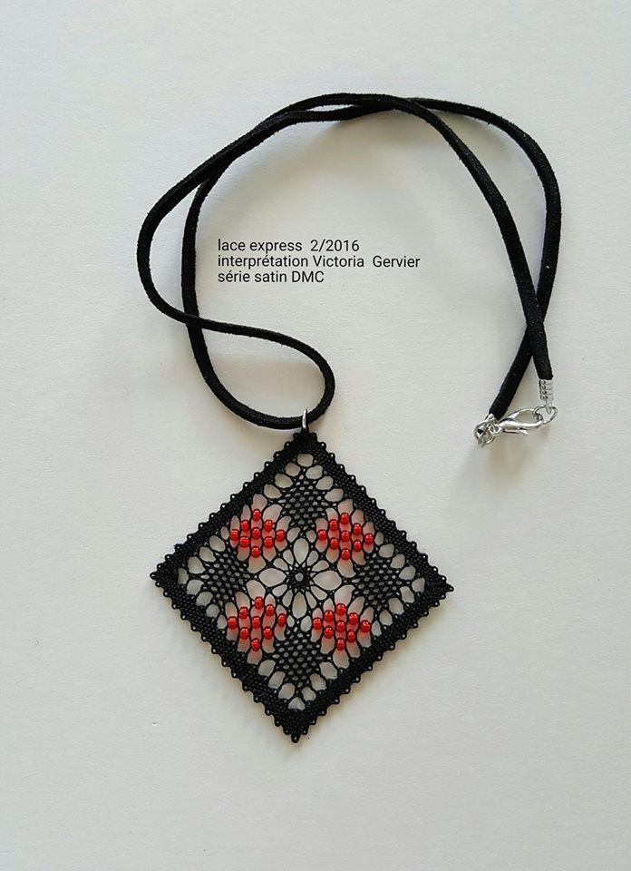 ENCAJERAS DE BOLILLOS DE BENALMÁDENA - 2 | Bobbin Lace ~ Jewelry ...
