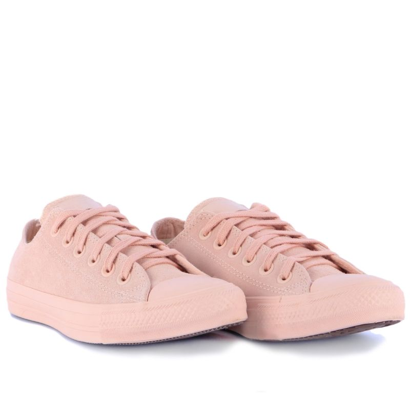 2539a96138 Tênis Converse Chuck Taylor All Star Blush Pack Ox Rosa Palido CT06550001