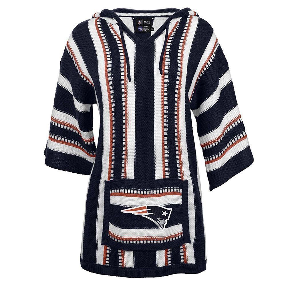 Little Earth Productions NFL New England Patriots Women s Baja Hoodie   LittleEarthProductions  NewEnglandPatriots f3da691a74
