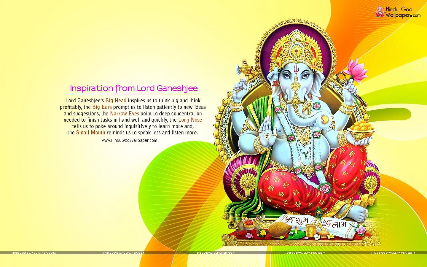 Lord Ganesha Pictures Download