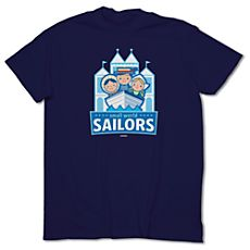 March Magic Tee for Adults - Small World Sailors - Limited Availability. it's a small world at Disneyland Resort