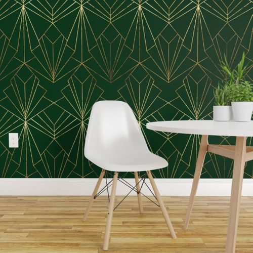 Solid Emerald Green Peel And Stick Wallpaper