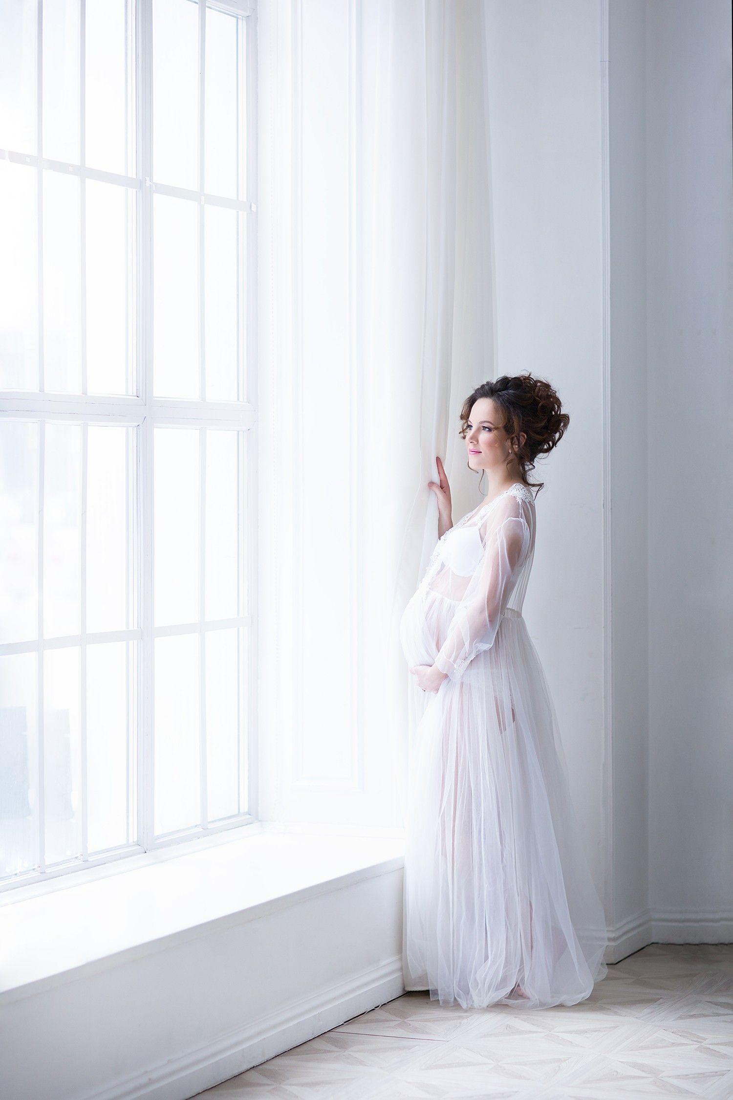 Красивая фотосессия для беременных в Москве. Беременная ...