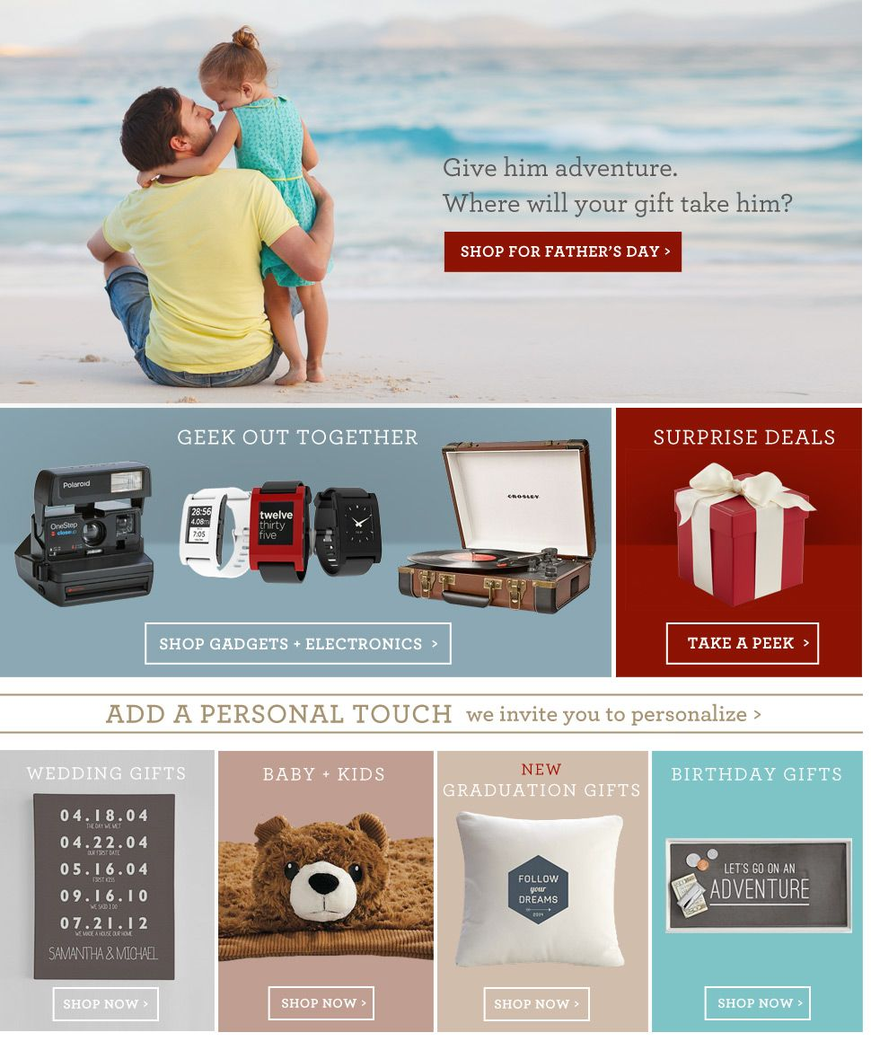 Unique Gifts for Every Occasion at RedEnvelope