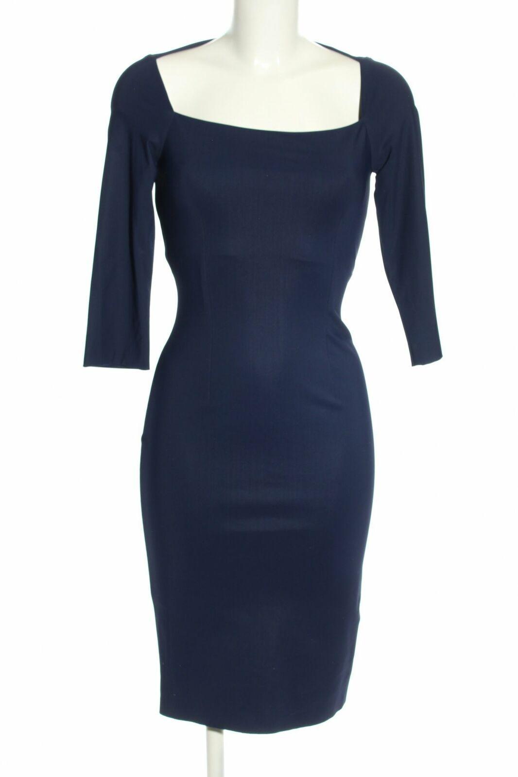CHRISTIES À PORTER Stretchkleid blau Elegant Damen Gr. DE 17 Kleid