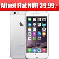 Iphone 6 Allnet Flat 1gb Datenflatrate Internetflat Neu Nur 39 99 Iphone Iphone 6 Ebay
