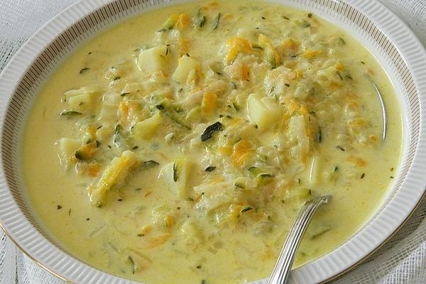 Diese Zucchinisuppe treibt in die Abhängigkeit von Gemüseschnecke | Chefkoch