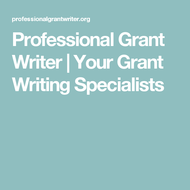Professional Grant Writer | Your Grant Writing Specialists