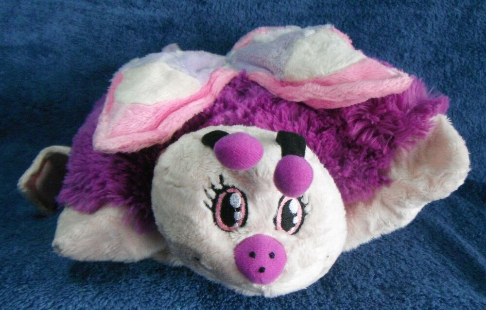 202012 Pillow Pets Pee Wees Butterfly Approx 30cm X 28cm Plush Ebay In 2020 Animal Pillows Stuffed Animal Cat Plush Stuffed Animals