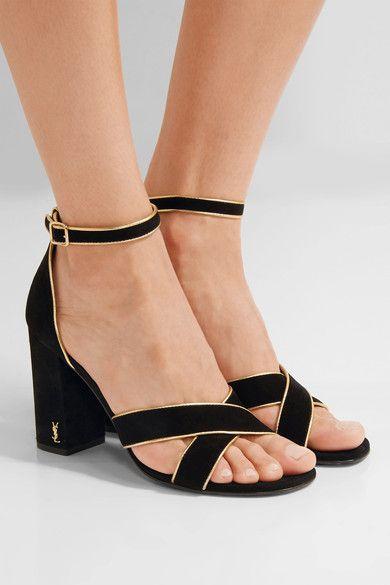 Saint Laurent Babies Ankle Strap Sandals free shipping Manchester get authentic sale wholesale price acbw4xzo