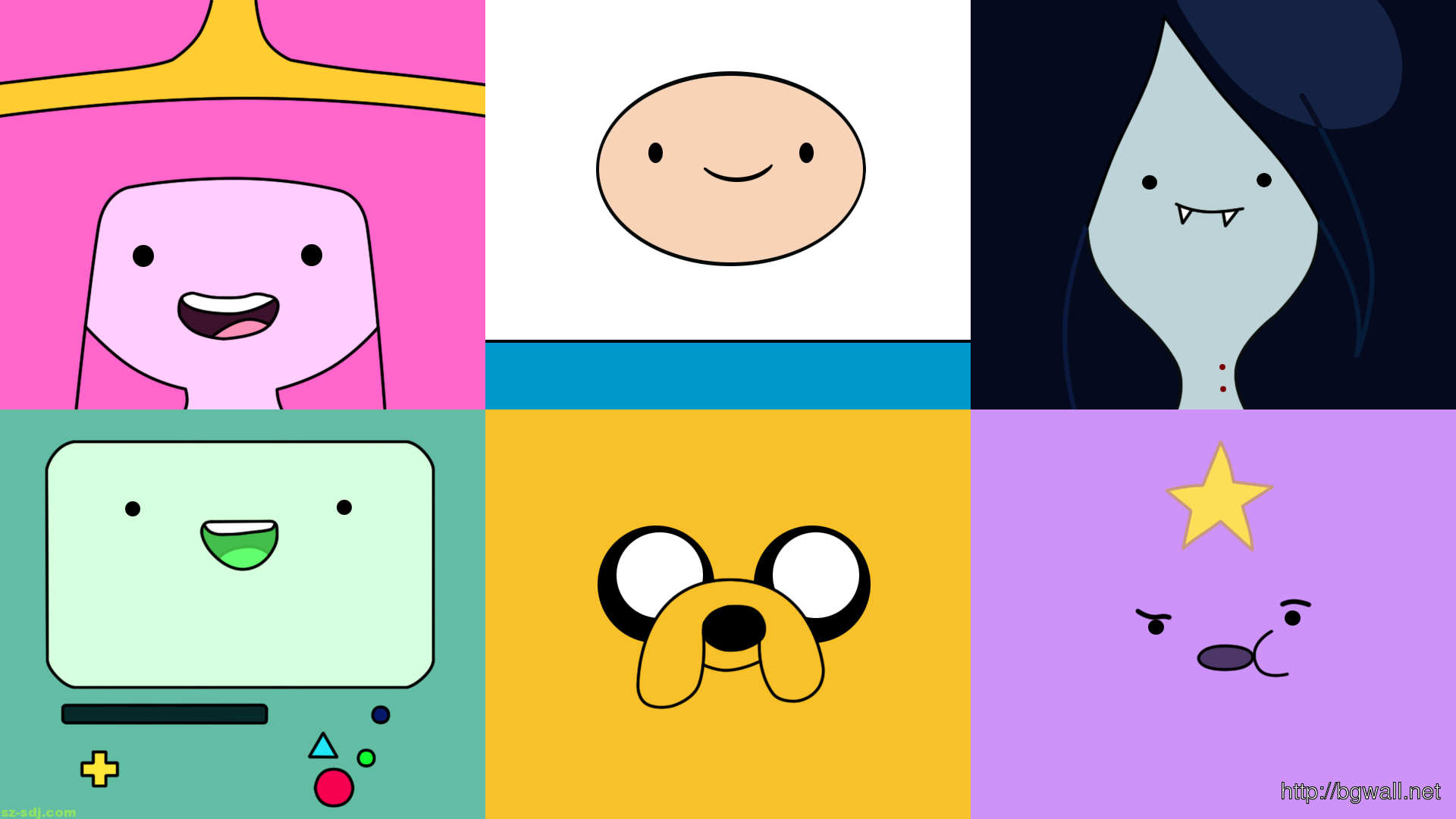 Cute Face Adventure Time Cartoons Wallpaper – Background Wallpaper ...