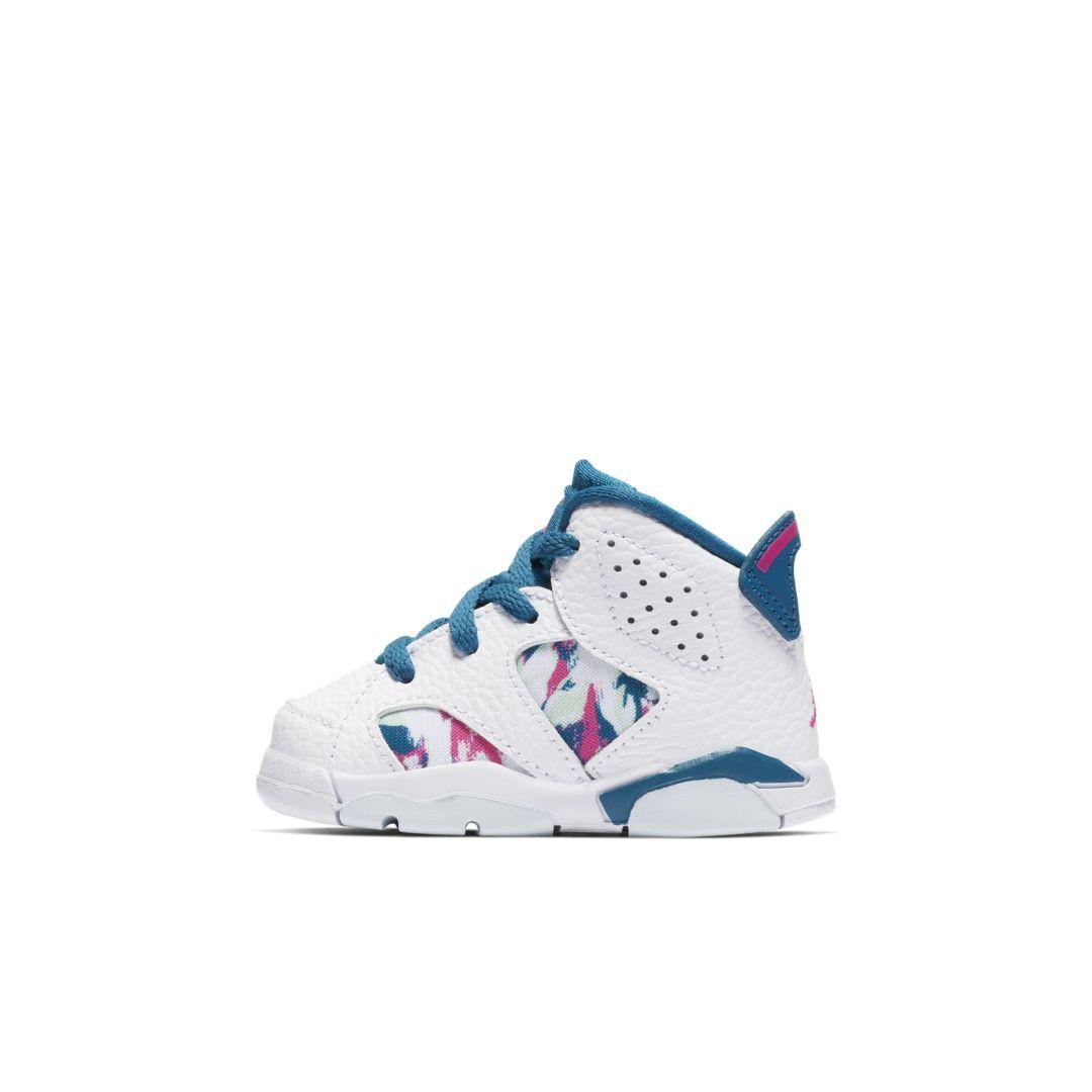 sale retailer 246b7 897f0 Air Jordan 6 Retro (2c-10c) Infant/Toddler Shoe in 2019 ...