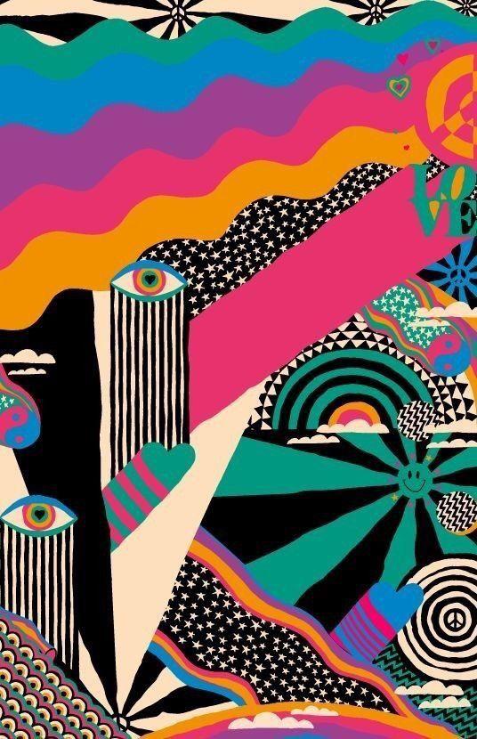 Pin By Makayla ღ On ⋰ ↳ Wallpaper Psychedelic Art