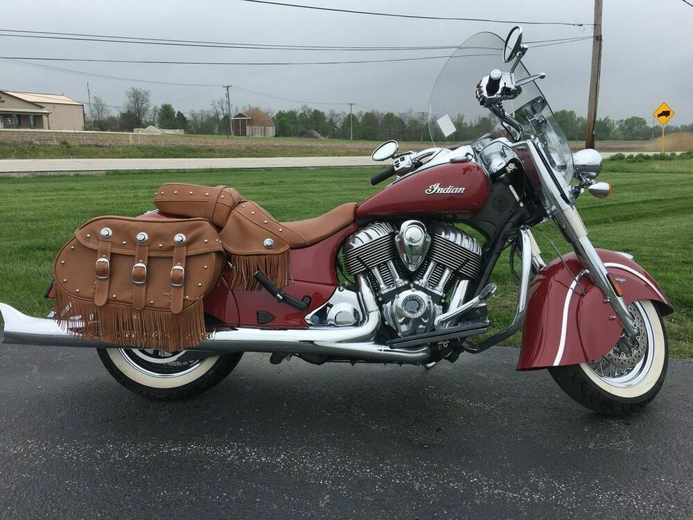 2015 Indian Motorcycle Chief Vintage Indian Red 2015 Indian Motorcycle Chief Vintage Indian Red With 227 Miles Available