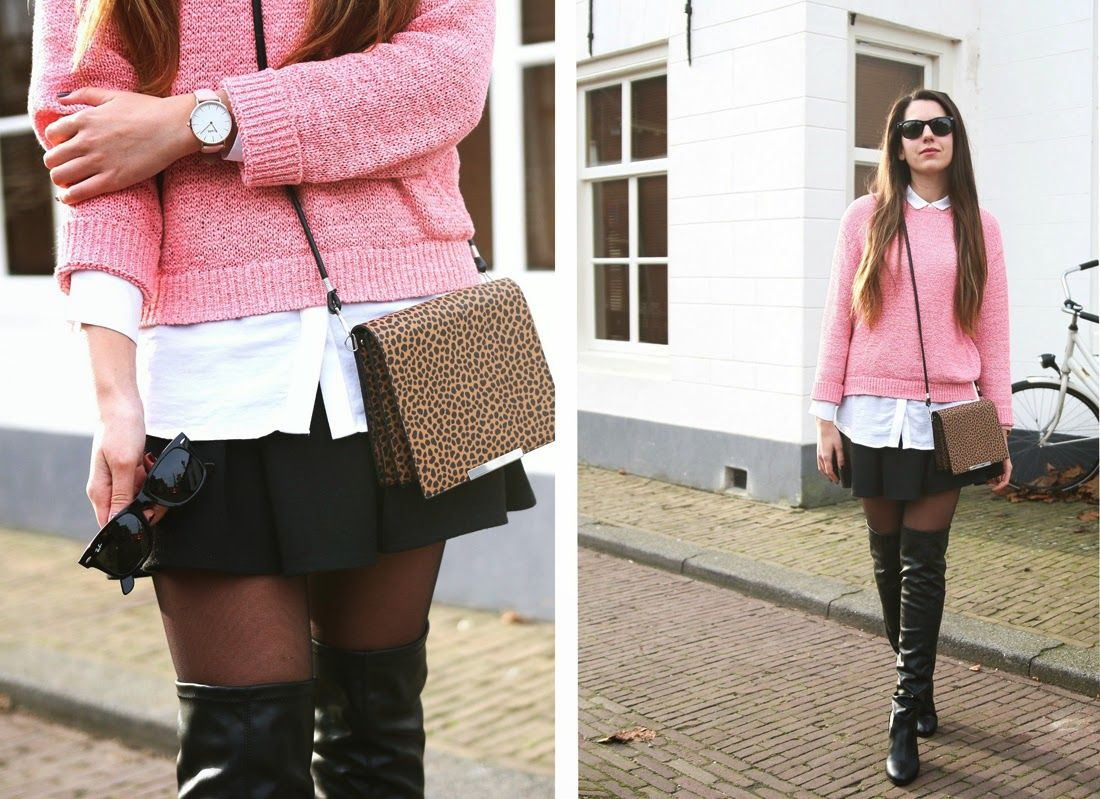 MIXT fashion & lifestyle; personal blog: 27/11/2014 outfit: Overknee boots