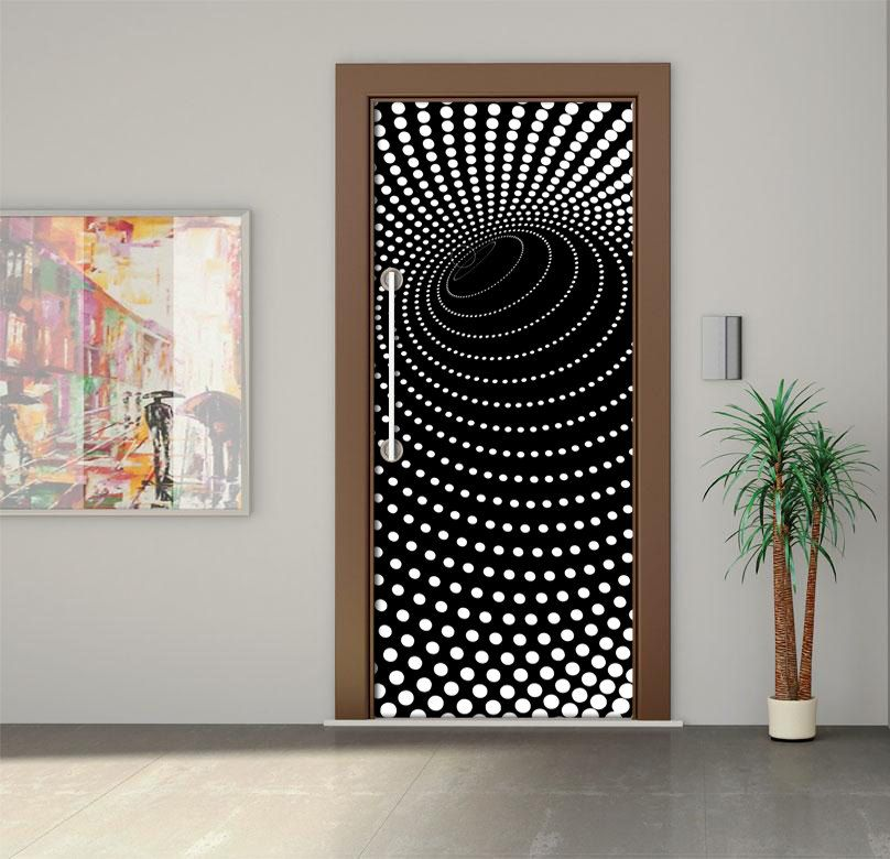 Door wall sticker door sticker door mural door wrap for Door wall mural