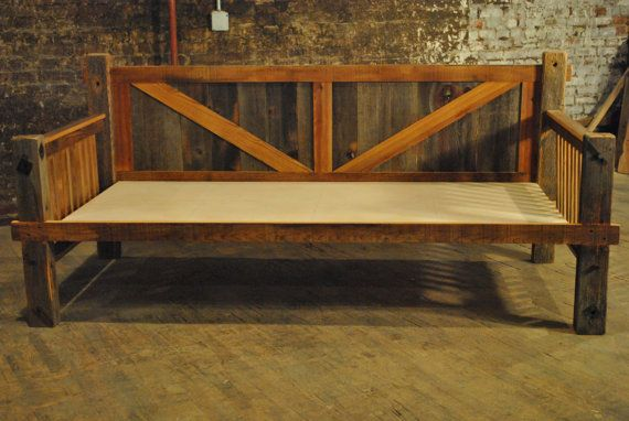 Barn Wood Daybed By Adventureindoors On Etsy 1050 00 Diy