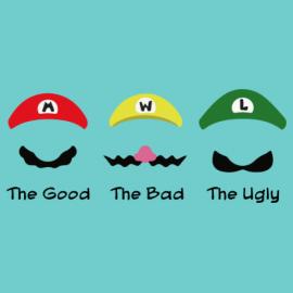 Good, Bad, Ugly Camiseta Premium