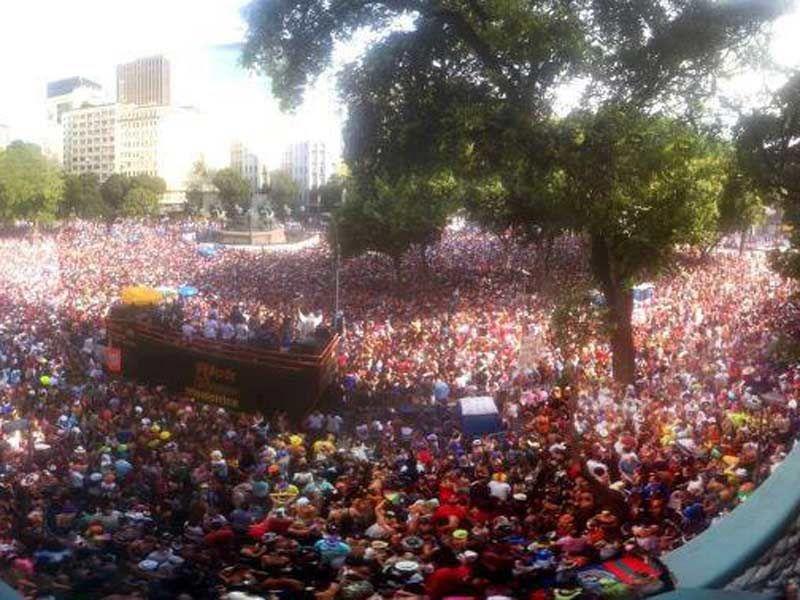 O Sesc Madureira recebe no dia 7 de fevereiro, a partir das 17h, o bloco de carnaval Toca Rauuul, com entrada grátis.