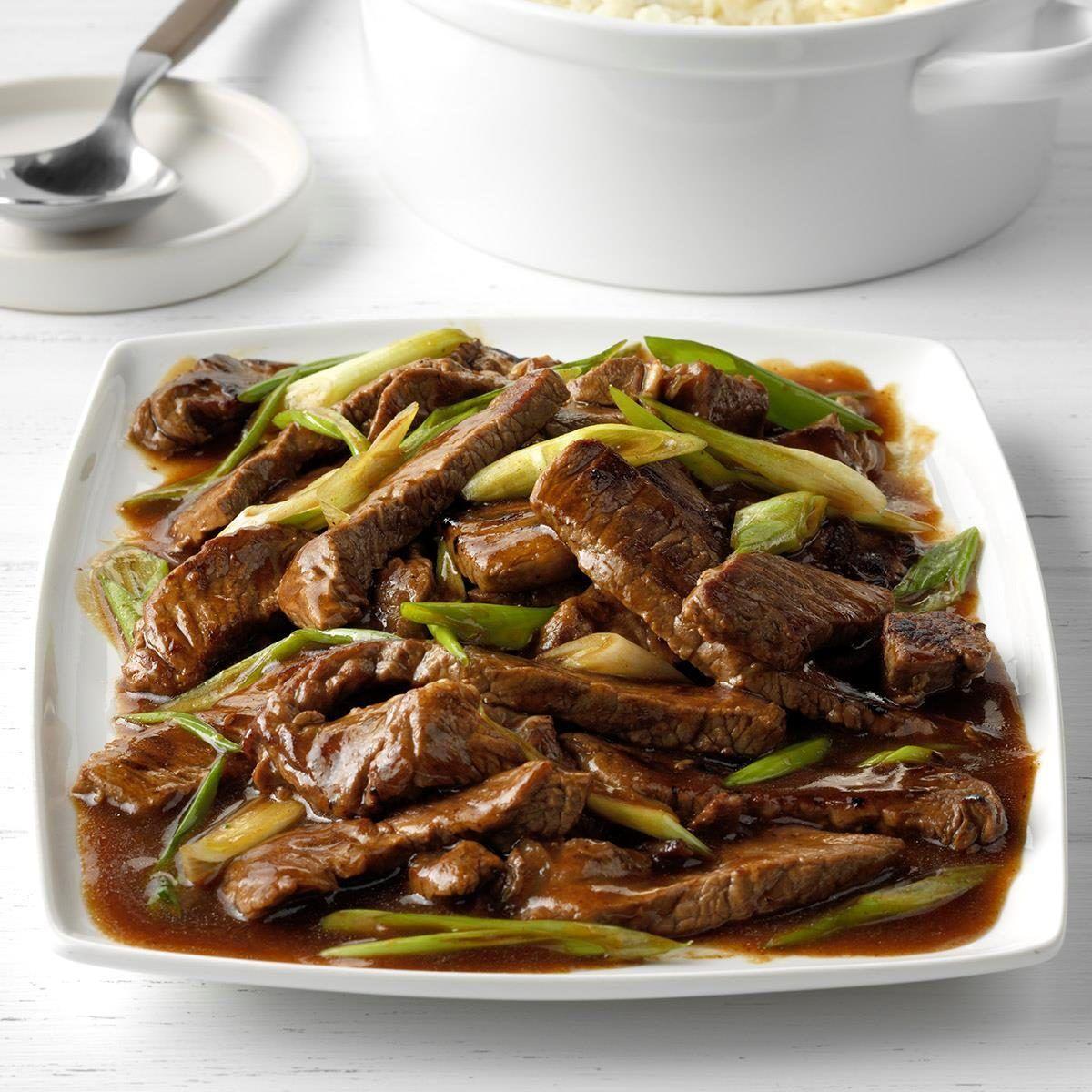 Mongolian Beef Recipe Mongolian Beef Recipes Mongolian Beef Beef Recipes