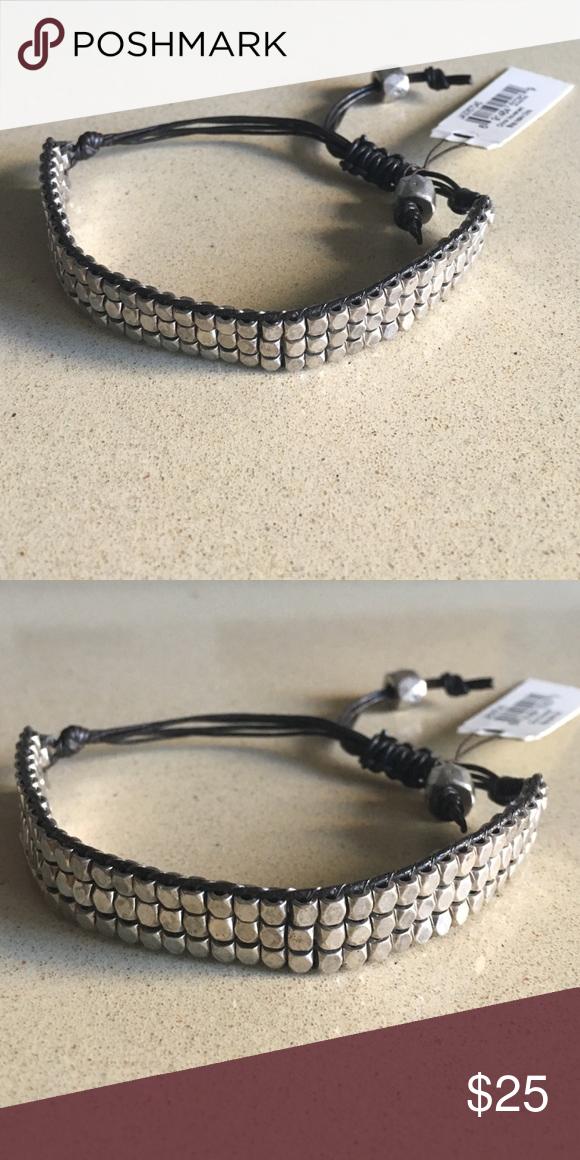 NEVER WORN Fossil bracelet Never worn silver Fossil bracelet Fossil Jewelry Bracelets