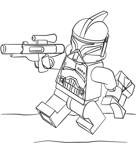 Lego Clone Trooper Coloring Page Png 434 480 Star Wars Coloring Book Lego Coloring Pages Star Wars Colors