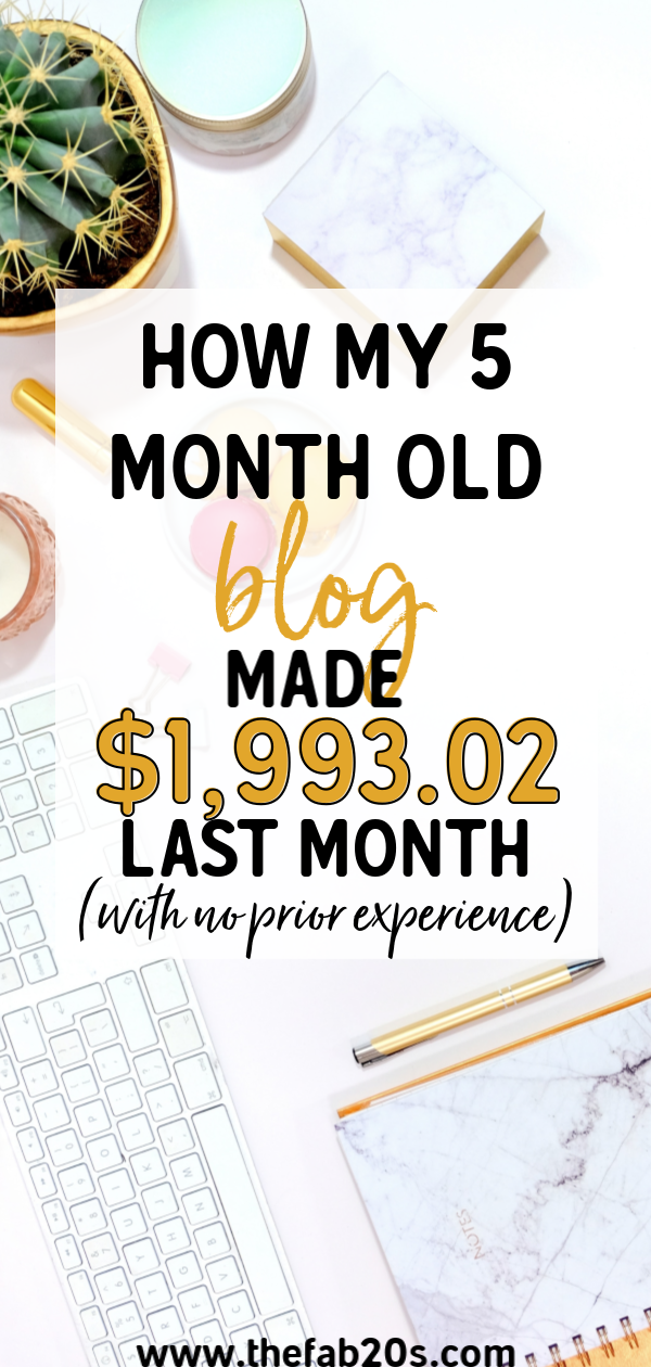 March 2019 Income + Traffic Report - How I Made $1,993.02 In My 5th Month Blogging #articlesblog