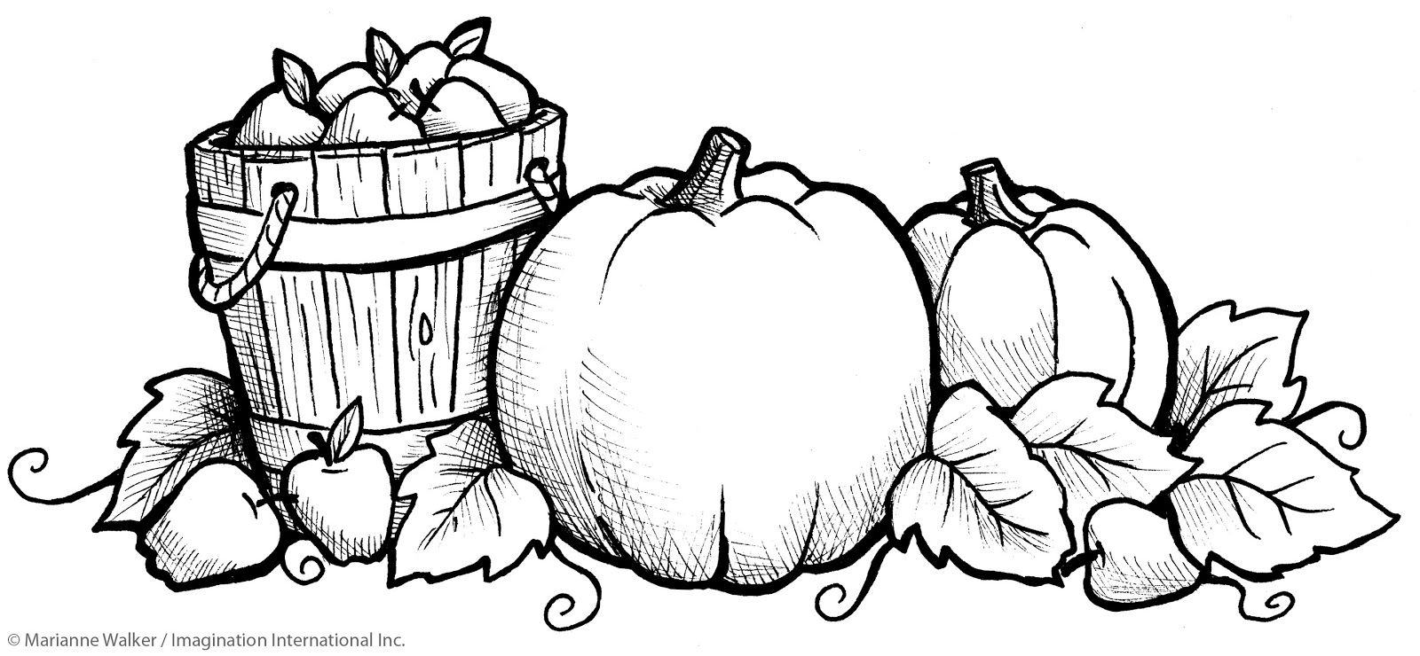 I Like Markers Fall Pumpkins Class Freebie Fall Coloring Pages