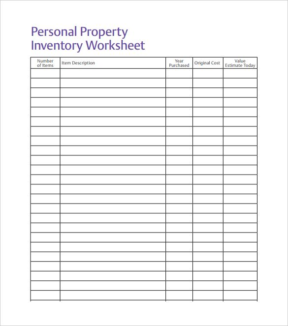 Inventory Spreadsheet Template   5 Free Word, Excel Documents Download |  Template, Business And Planners  Inventory Worksheet Template