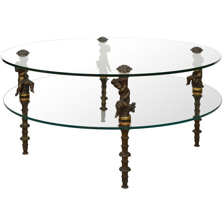 Hollywood Regency Coffee Cocktail Tables I Love The The Way The Wrought Iron Legs Are Turned Coffee And Cocktail Tables Coffee Table Table
