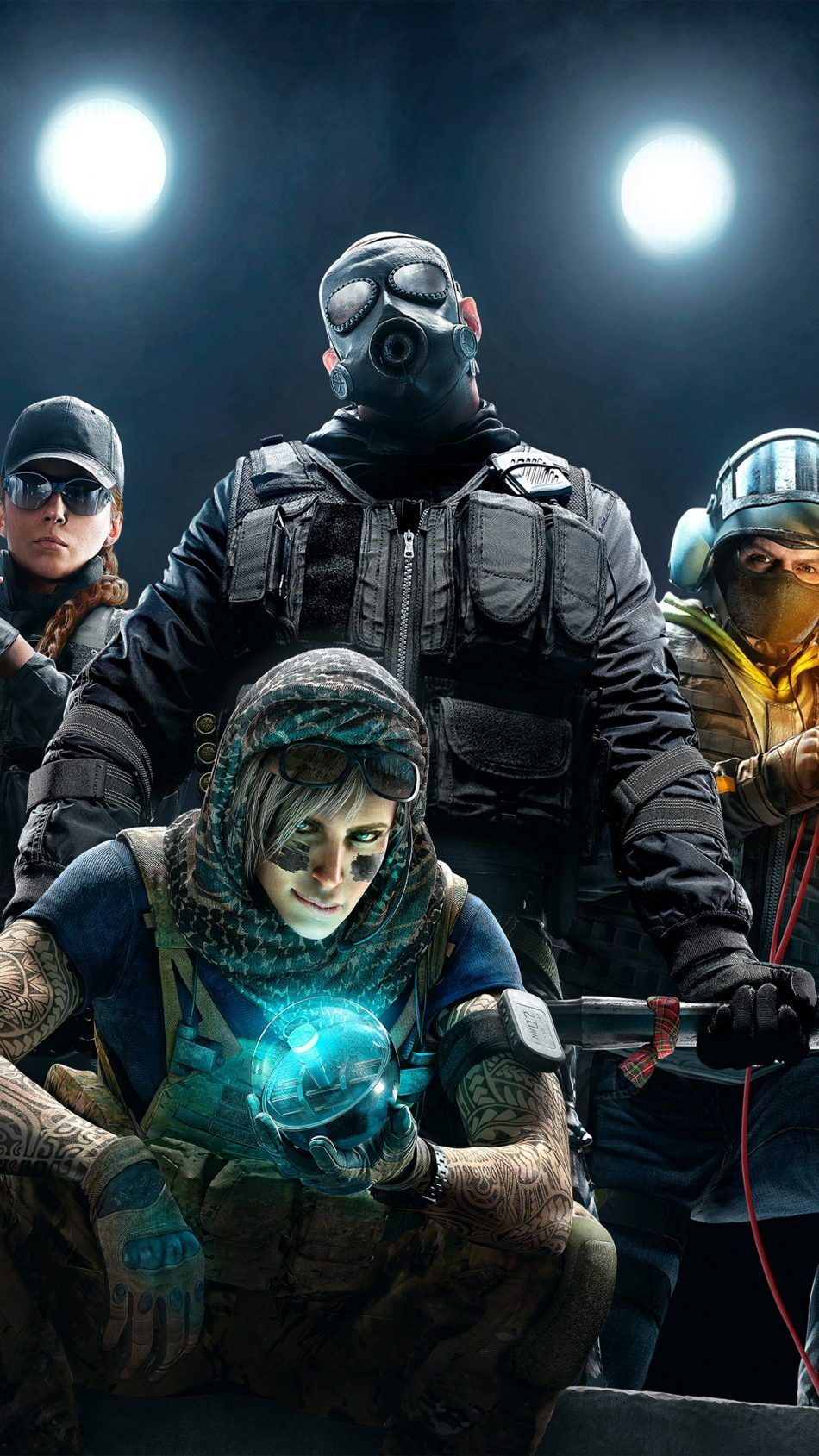 Tom Clancy S Rainbow Six Siege Video Game Free 4k Ultra Hd Mobile Wallpaper Tom Clancy S Rainbow Six Rainbow Six Siege Art Rainbow Wallpaper