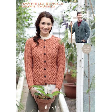 Cable Cardigan Knitting Patterns For Men And Women I V
