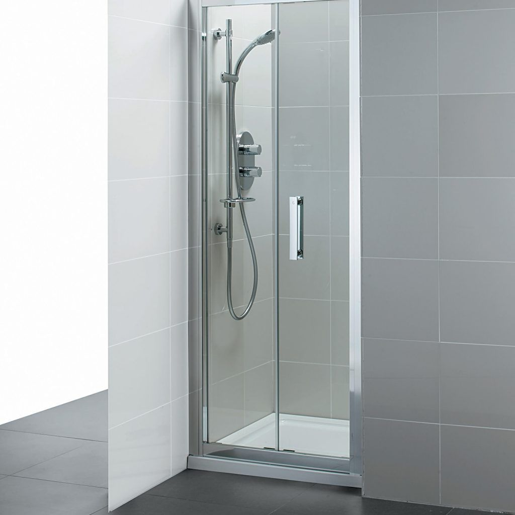 Infold Shower Door 1000mm