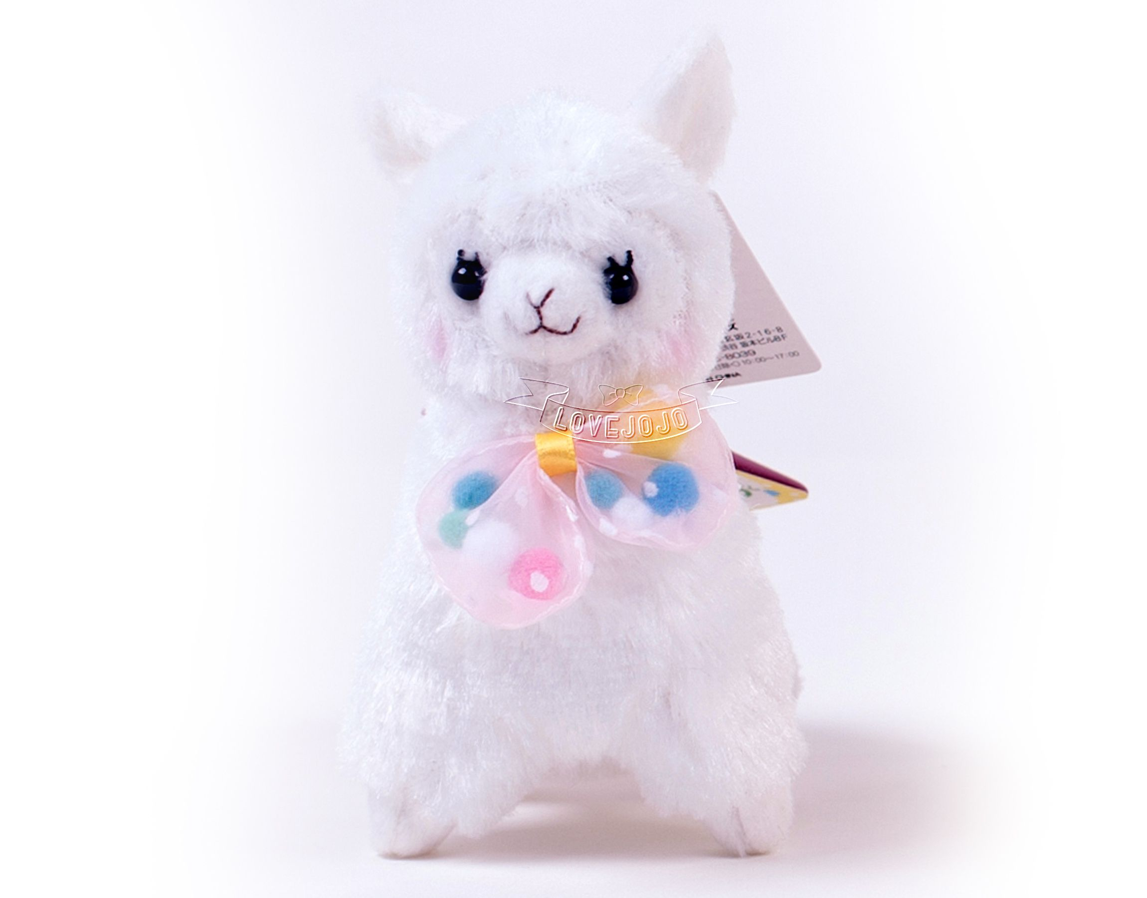 Alpacasso Pop N Ribbon Series 12cm Plush | LoveJojo.com