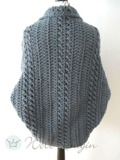 Anleitung Seelenwärmer Shrug Styling Pinterest Knitting