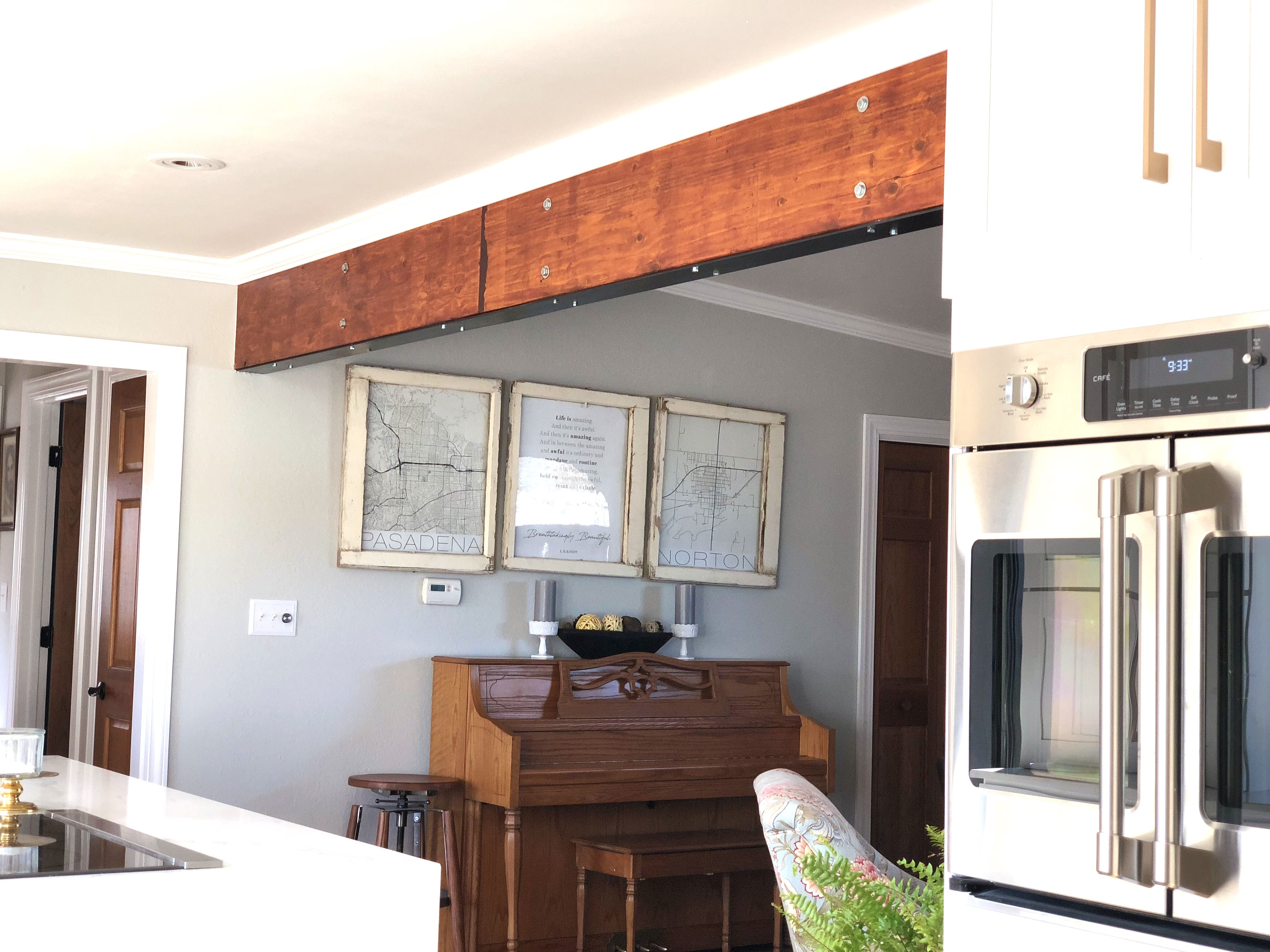 Exposed Beam Grey Owl Paint Home Decor Gray Owl Paint Exposed Beams