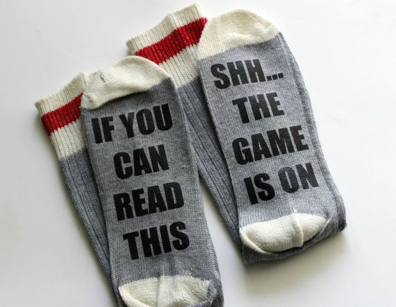 exclusive range low priced best If You Can Read This - Game Socks - Hockey Socks - Football ...