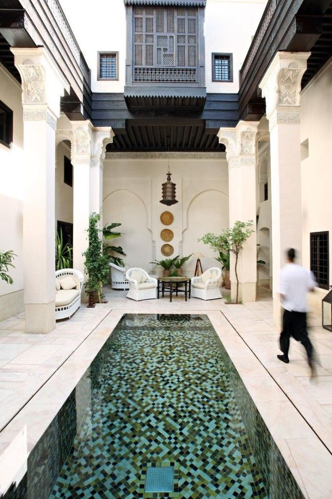 design - 10 beautiful riad hotels in Marrakech, including secret gardens, hidden hammams and shaded rooftop terraces #rooftopterrace
