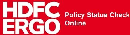 How To Check Hdfc Ergo Policy Status Online Statement Via Sms And
