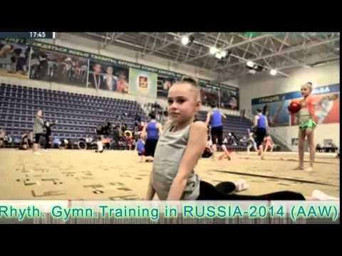 Rhythmic Gymnastics Training - All that I'm Living For (HD) - YouTube