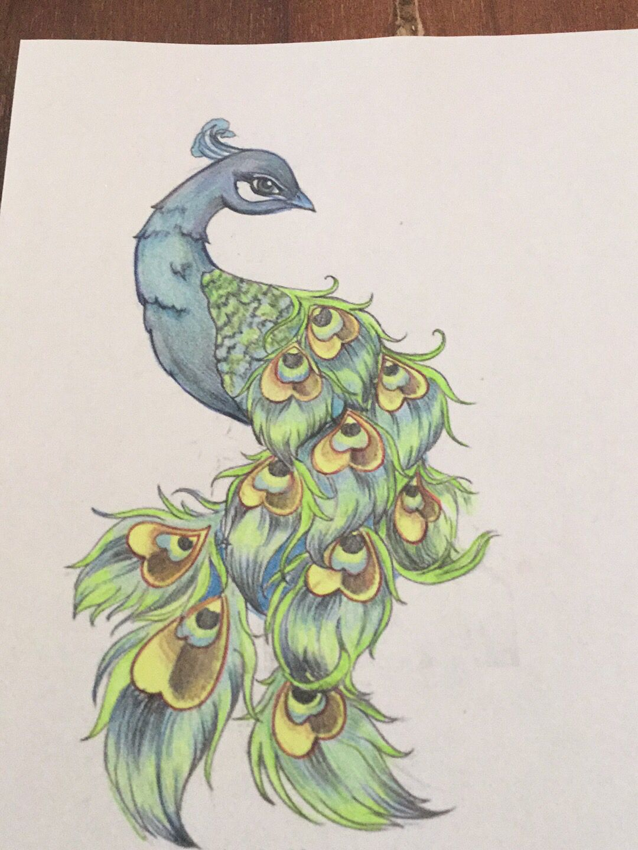 pauw 1522016 gekleurd saree in 2019 peacock tattoo