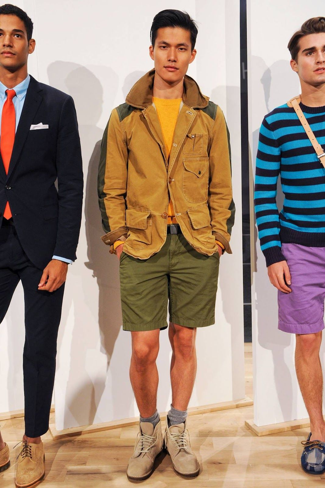Standard Deviation - Fashion. Design. Culture. Art. Myko.: J. Crew Spring / Summer 2013 #Menswear Presentation #nyfw