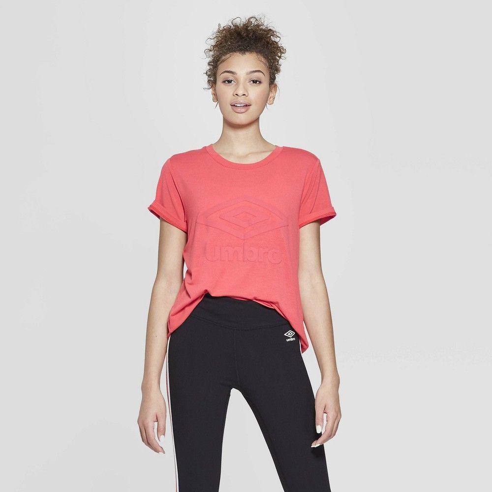 128bdd9733e petiteUmbro Women's Short Sleeve T-Shirt Flash Red XXL in 2019 ...