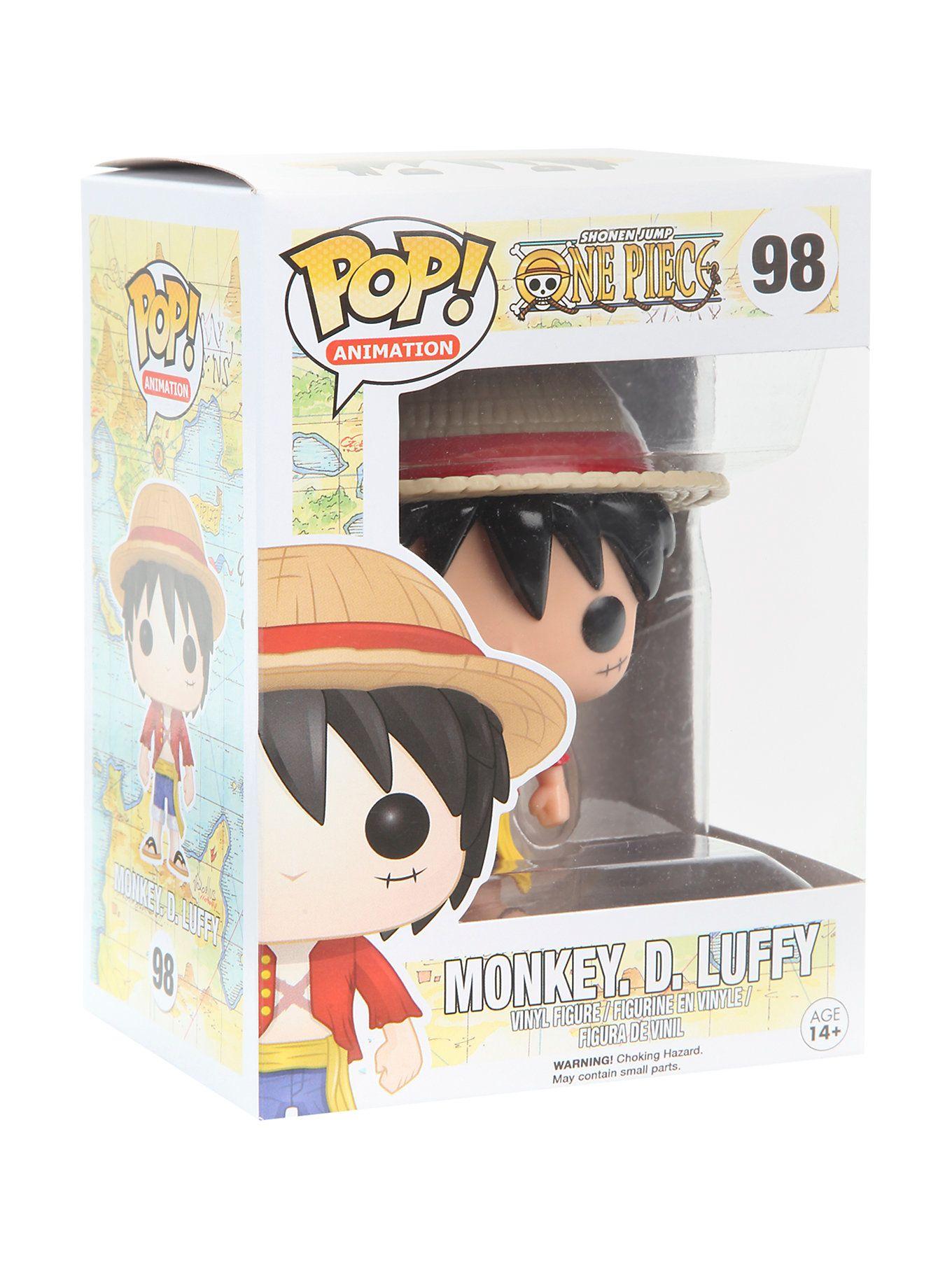 Funko One Piece Pop Animation Monkey D Luffy Vinyl Figure Vinyl Figures One Piece Pop Pop Vinyl Figures