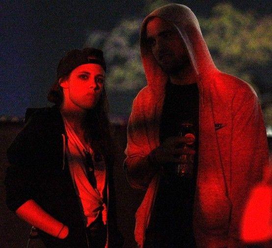 Kristen Stewart and Robert Pattinson at Coachella Partying : Celebrity  History