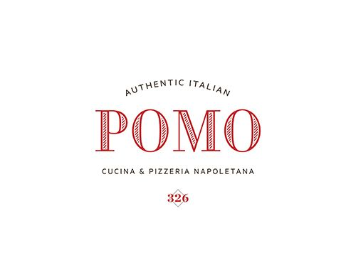 Pomo authentic italian cucina pizzeria napoletana for Cucina logo