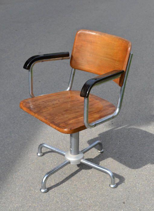 chaise bois industrielle Chaises Pinterest Chaises bois