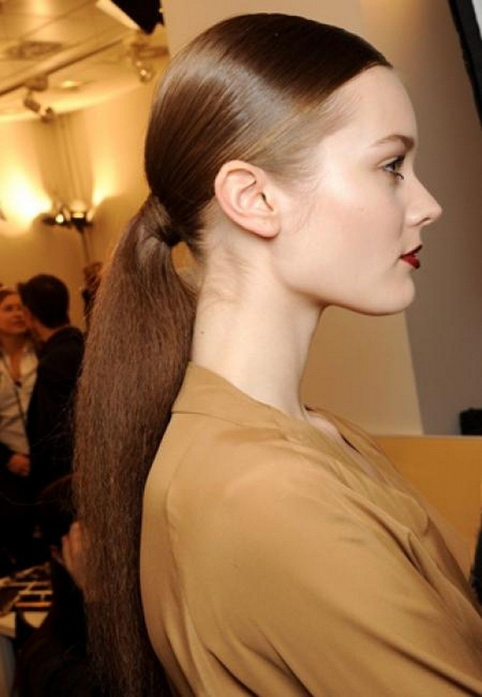 slick back and ponytail | prettify | catwalk hair, ponytail